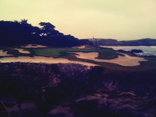 Hole 15 at Cypress Point