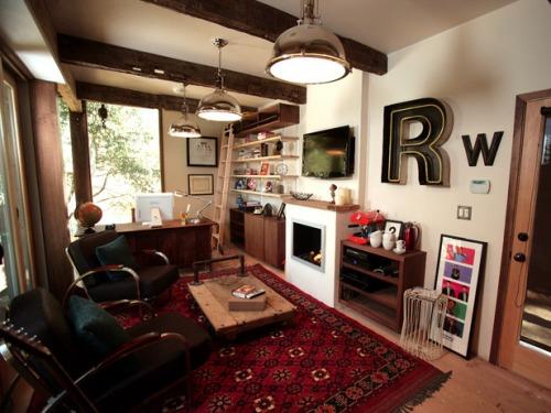 Rainn Wilson's Study