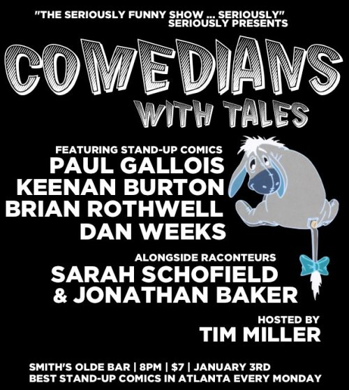 Comedians With Tales